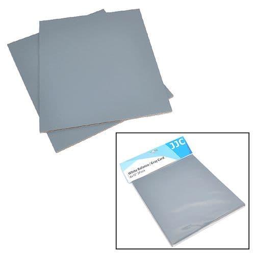 2 en 1 Carte Gris Blanc Balance de Blanc Température Couleur Exposition Photo x2