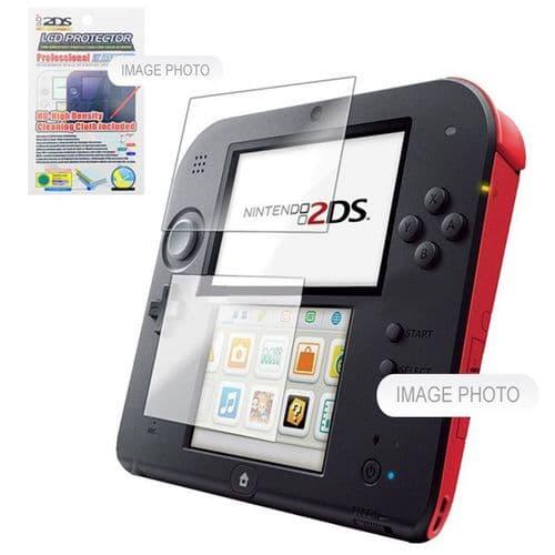 2 pièces Film de Protection pour Ecran Console de Jeux Nintendo 2DS