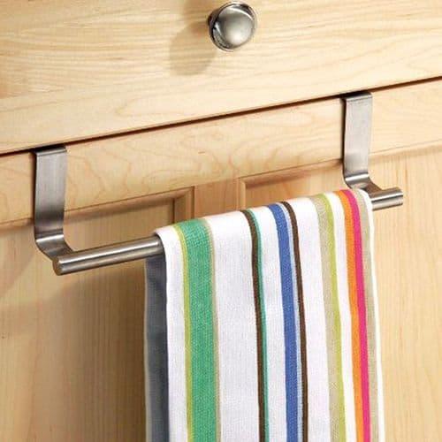 23cm Support placard rangement porte serviette de cuisine salle de bains