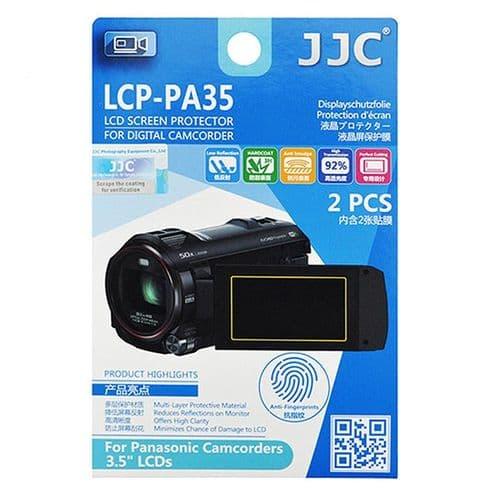 2x Film Ecran LCD Dureté H3 Protection pour Panasonic Caméscope 3,5'' pouces