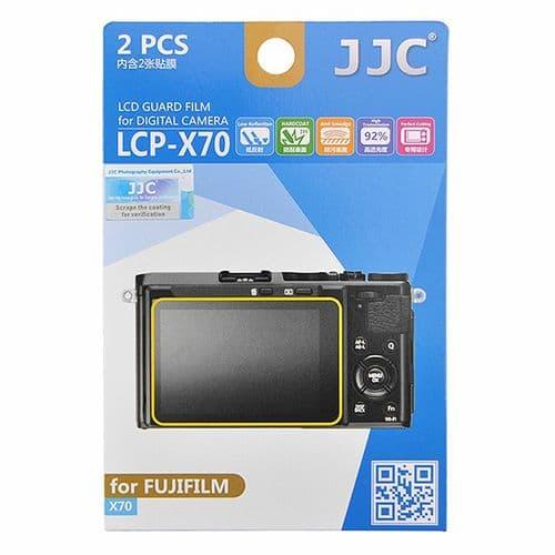 2x Film de Protection Ecran LCD Dureté H3 pour Appareil Photo Fujifilm X70