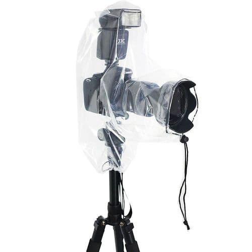 2x Housse Protection Etanche Anti-pluie DSLR Appareil Photo Objectif 25x16cm