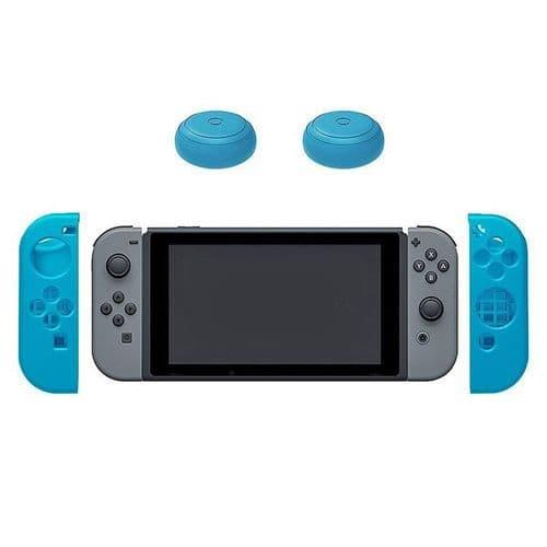 2x Housse en Silicone Nintendo Switch Joystick Manette Thumb Stick Capuchons BU