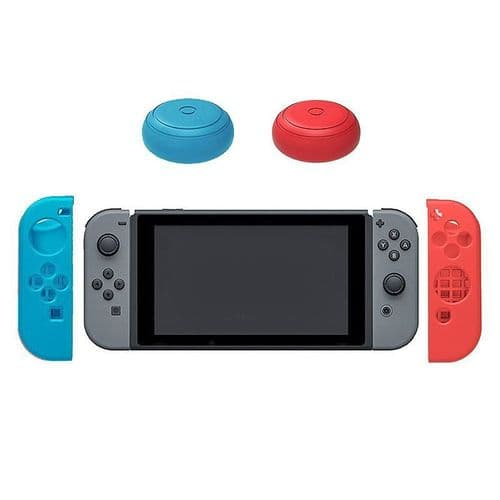 2x Housse en Silicone Nintendo Switch Joystick Manette Thumb Stick Capuchons RB