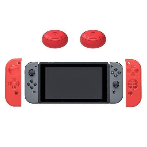 2x Housse en Silicone Nintendo Switch Joystick Manette Thumb Stick Capuchons RD