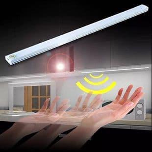 2X Barre Lampe Capteur Tactile Capteur De Mouvement Rechargeable 21 Led Lumière