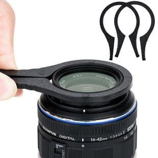 2X Pinces Filtre Appareil Photo À Démonter Pour Filtre 37Mm-86Mm Diamètre