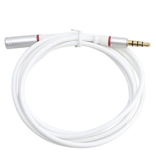 3,5mm Mini-Jack Mâle à Femelle Audio Stéréo Câble Extension WH