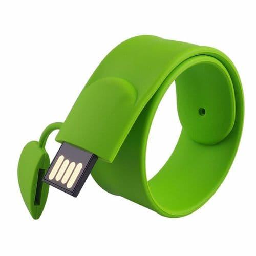 32Go USB 2.0 Clé USB Clef Mémoire Flash Data Stockage Bracelet Vert