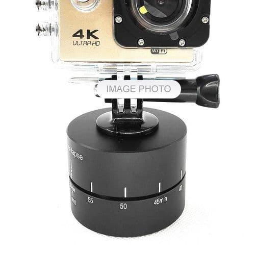 360 degrés Rotation Tête Rotule Time-Lapse pour DSRL Action Caméra et GoPro