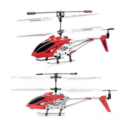 3CH Radio Télécommande Hélicoptère Alliage Copter avec Gyroscope Jouet RD
