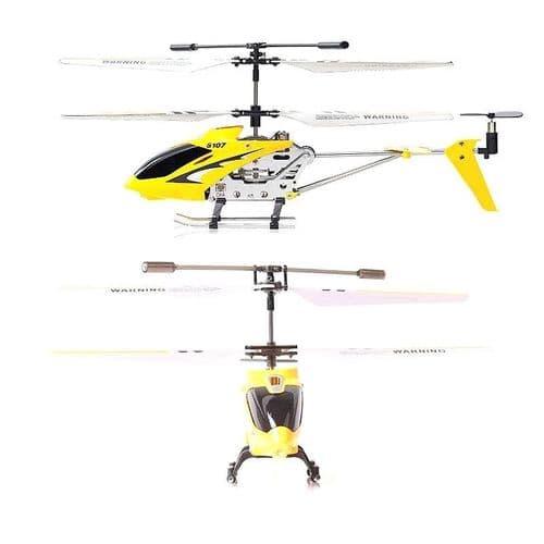 3CH Radio Télécommande Hélicoptère Alliage Copter avec Gyroscope Jouet YL