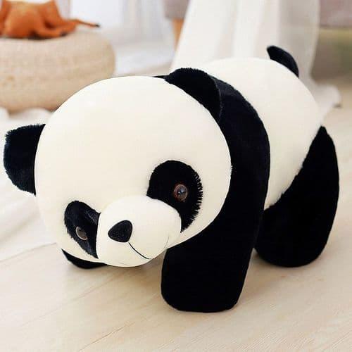 50Cm Cartoon Panda Coussin En Peluche Doux Souple Décoratif Canapé