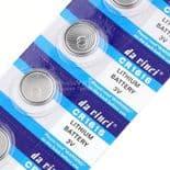 5pcs Batterie bouton pile  CR1616 1616 DL1616 ECR1616 LM1616 Batterie Lithium 3V