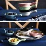 5pcs set Céramique Sauce Plat Vaisselle Assaisonnement Petite bowl apéritif