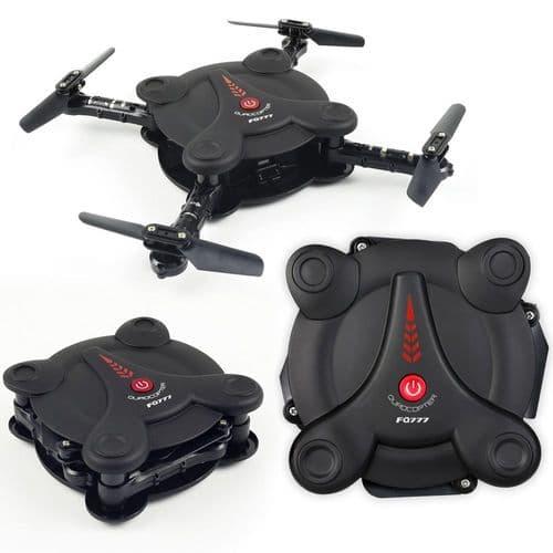 6-Axis Gyro Wi-Fi FPV G-Sensor Drone 0.3MP Caméra RC Mobile Quadcopter BK