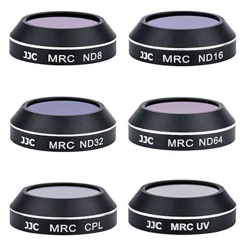 6 Filtres ND8 ND16 ND32 ND64 UV CPL Polarisant pour Objectif Drone DJI Mavic Pro