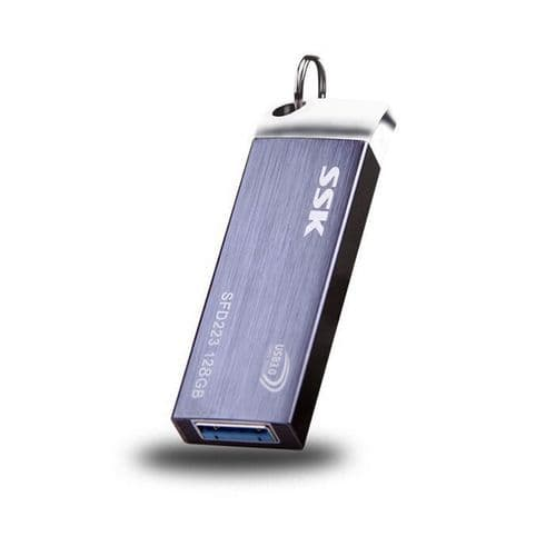 64 Go Mini Clé USB Clef Mémoire Flash U Disque USB 3.0 SSK en Alliage Aluminium