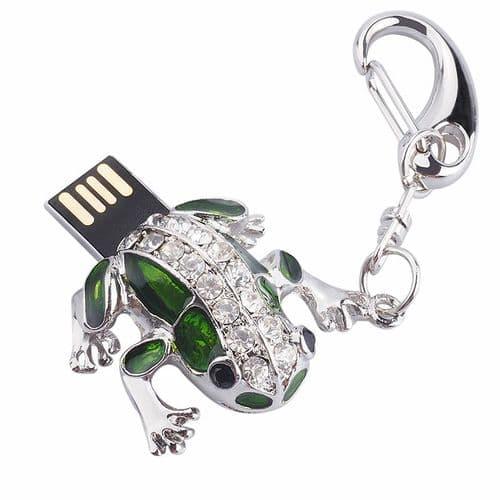 64Go USB 2.0 Clé USB Clef Mémoire Flash Data Stockage Petit Grenouille