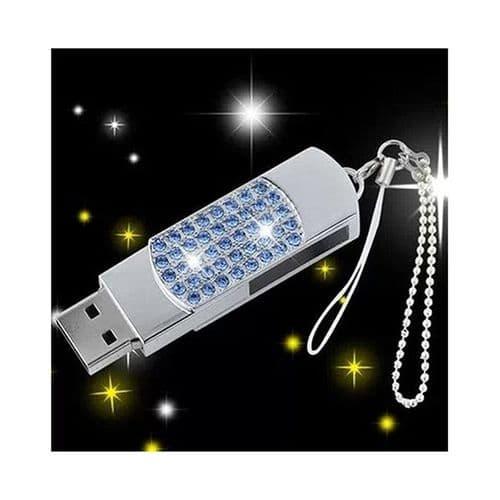 64Go USB 2.0 Clé USB Clef Mémoire Flash Data Stockage Strass II