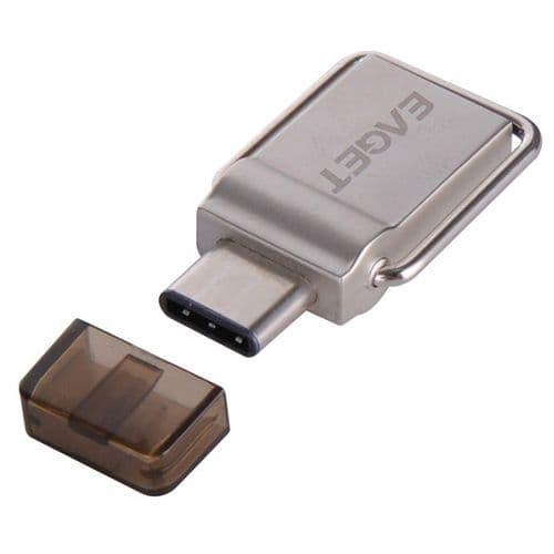 64GO OTG USB-C Type-C USB 3.0 Clé USB Clef Mémoire Flash EAGET CU10
