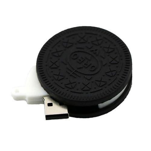 64GO USB 2.0 Clé USB Clef Mémoire Flash Clé USB Biscuit Chocolat Silicone