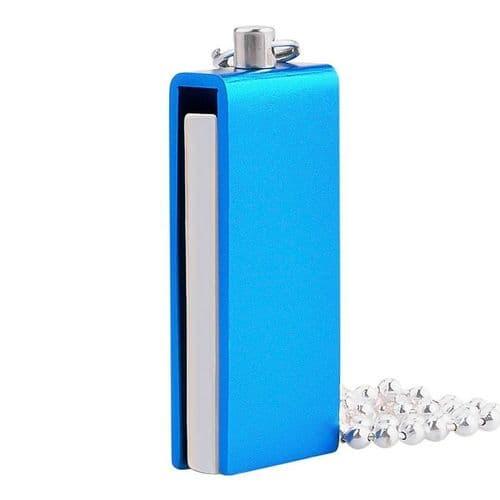 64GO USB 2.0 Clé USB Clef Mémoire Flash USB Métal Bâton Bleu