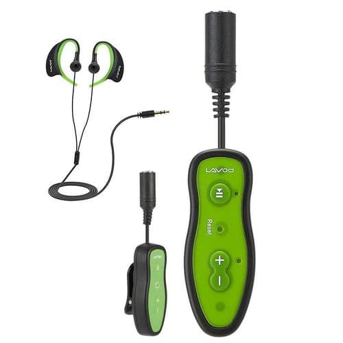 8Go Lecteur MP3 IPX8 Etanche Clip Design Musique Audio Avec Ecouteur GR