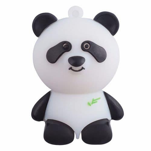 8GO USB 2.0 Clé USB Clef Mémoire Flash Data Stockage Panda Silicone