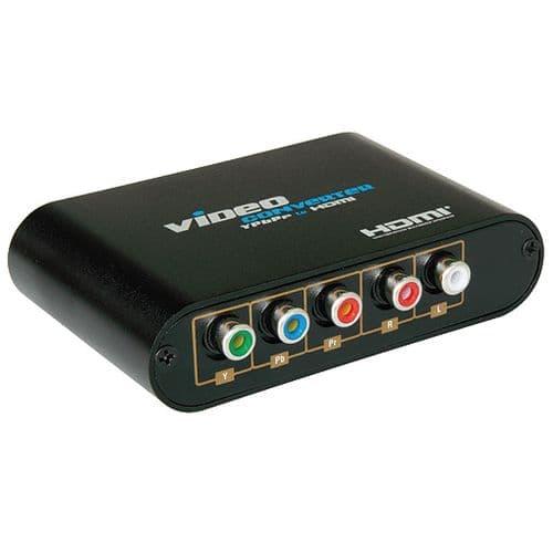 Adaptateur Convertisseur Composante YPbPr Vidéo YUV Audio vers HDMI Transformateur