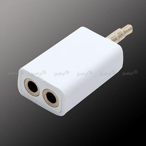 Adaptateur Répartiteur Diviseur Audio Mini-jack 3.5mm pour Lecteur MP3 Audio 1 Male à 2 Femelle 280
