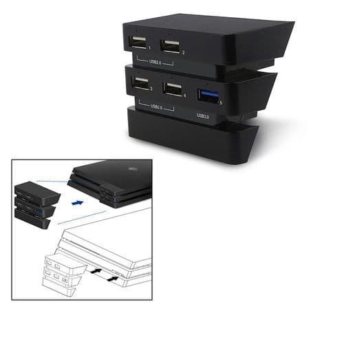 Adaptateur port USB PS4 Pro Console Playstation 4 Pro Console USB Hub 3.0 2.0