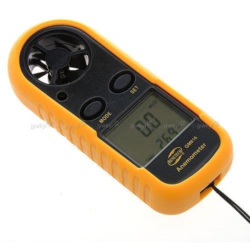 Anémomètre Thermomètre Numérique Digital Vitesse du Vent