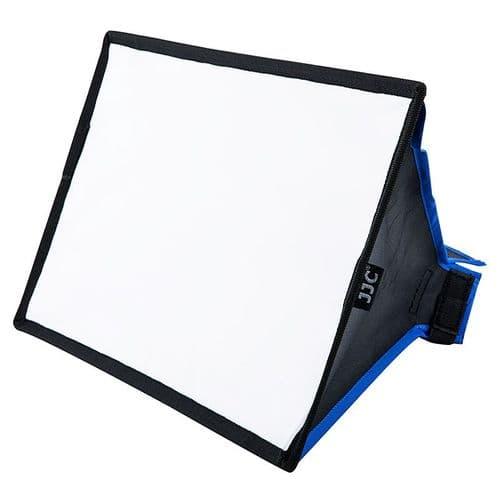 Boîte Diffuseur Universelle Rectangle Polyester 330x205x18mm pour de Flash Cobra