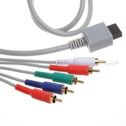 Câble AV Composante YUV Y/Pr/Pb pour Nintendo Wii HD Haute Définition