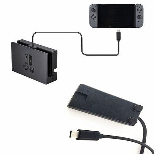 Câble Extension Recharge Chargement pour Dock Nintendo Switch NS Data Vidéo 1m