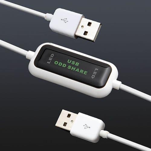 Câble ODD USB 2.0 Partage Disque Optique Lecteur Graveur CD/DVD Sans Pilote 93