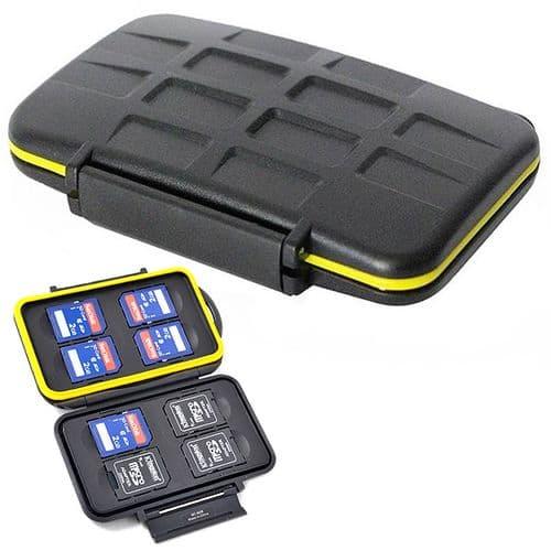 Caisson Boîte Etanche de Protection pour Carte Mémoire Flash SD SDHC