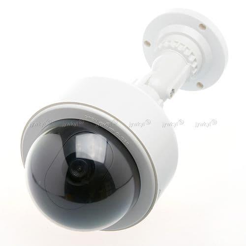 Caméra Murale Infrarouge Sécurité Vidéo Surveillance LED Factice Dôme Imitation