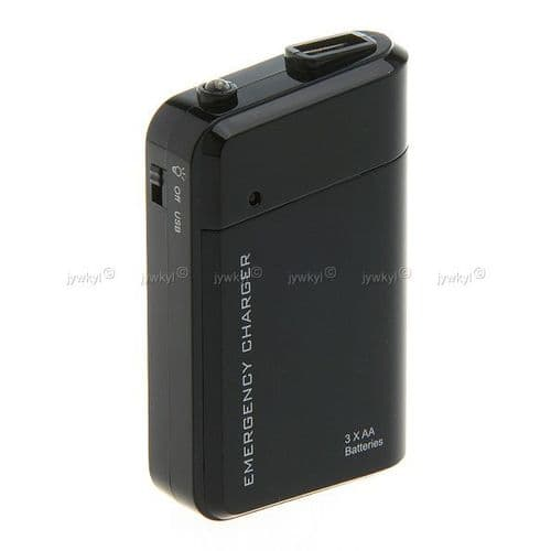 Chargeur Batterie Urgence Universel iPod iPhone Smartphone Samsung HTC LG AA 321