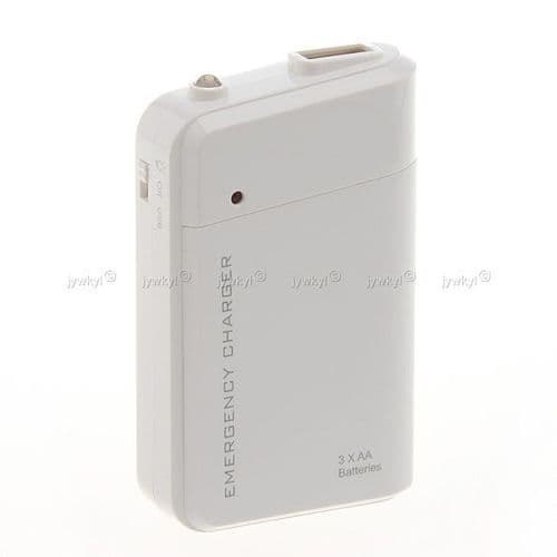 Chargeur Batterie Urgence Universel iPod iPhone Smartphone Samsung HTC LG AA WH 322