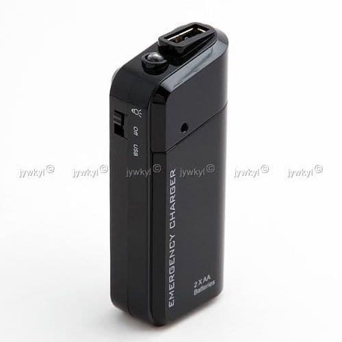 Chargeur Batterie d'Urgence Universel pour iPod iPhone et Toutes Marques de Mobile et Lecteur MP3