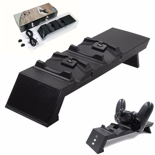 Chargeur USB Dual Dock Support  pour Manettes Joystick PS4 Playstation 4 Console
