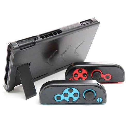 Coque Protection Etui Rigide Console Nintendo Switch NS NX Joy-Con Joy-stick BK
