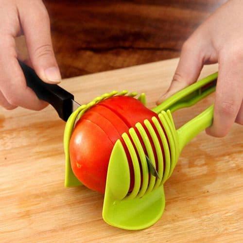 Coupe Tomate Citron Poire Trancher Coupe Légume Fruits Ustensile Outil de Cuisine GR