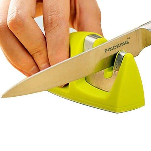 Couteau Aiguiseur Tungstène Acier Diamant Acier Inoxydable Couteau Céramique