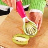 Cuisiner Outil de Cuisine Ustensiles Fruit Légumes Salade Cuillère Couper Trancher