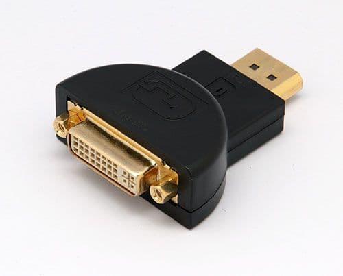 DisplayPort Mâle à DVI Femelle Adaptateur Prise Câble