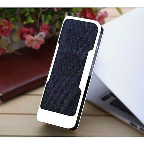 Enceinte Bluetooth Portable Chargeur batterie Alimentation Urgence 4000mAh WH