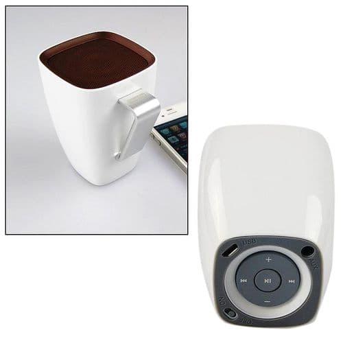 Enceinte Bluetooth Sans fil v3.0 Portable Audio Musique Forme de Tasse WH